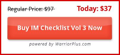 IM Checklist Volume 3 Review